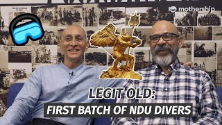The first batch of Naval Divers in Singapore tell us what it's like back in the day