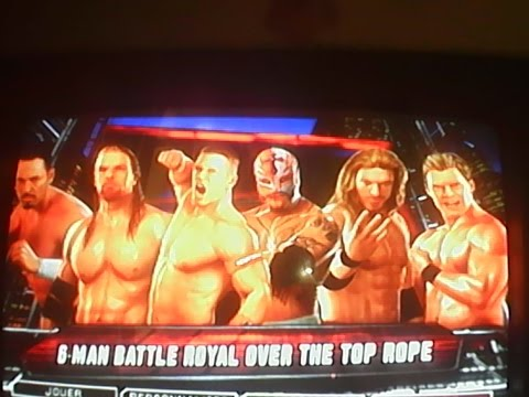 Download wwe 2k11 6-man battle royale HD Mp4 3GP Video and MP3