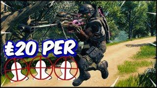 £20 Per Sniper Head shot Challenge On Cod Blackout Solos!