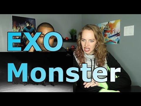EXO Monster Reaction EXO Lucky One Music Video Reaction