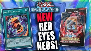 NEW Red Eyes Fusion + Neos Deck! - Yu-Gi-Oh! Duel Links PvP