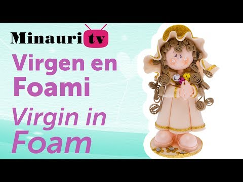 Fofucha Doll Virgin - Virgen Foamy 3D - Minauri