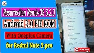 resurrection remix rom for redmi note 5 - Kênh video giải