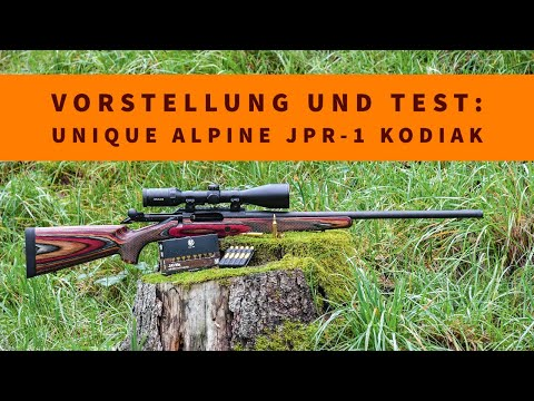 Unique Alpine: Im Test mit Video: Der jagdlich Präzisionsrepetierer Unique Alpine JPR-1 Kodiak in .243 Winchester