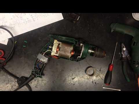 Sostituzione carboncini Trapano Bosch - Fail