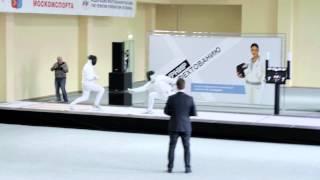В Москве прошел VI традиционный турнир по фехтованию на шпагах на призы К. Азнавурян