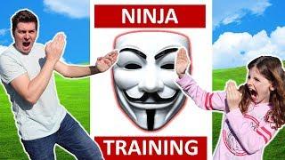 Ninja Training to Defeat Project Zorgo!