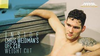 Inside Chris Weidman's Final UFC 210 Weight Cut - MMA Fighting