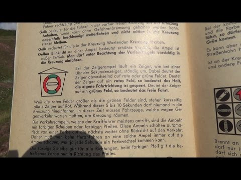 Bücherregal #32: Sicher zum Führerschein (Stand: April 1964)