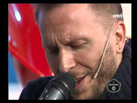 Noel Schajris video Que me alcance la vida - Estudio CM 2014