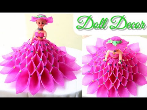 DIY Doll Decoration Idea/Make Decorative Doll/Best Use of Doll & Foam Sheets/Room Decor Idea