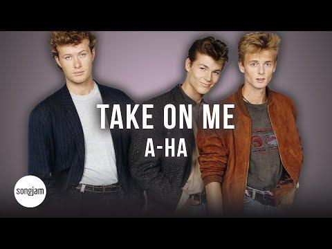 A-Ha - Take On Me (Official Karaoke Instrumental)   SongJam