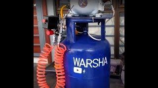 صناعة  كومبريسر\ ضاغط هواء في المنزل