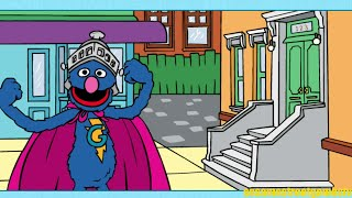 Sesame Street Super Grover The Nick of Rhyme Online Game For Kids