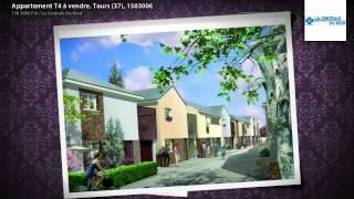 Appartement T4 à vendre, Tours (37), 150300€