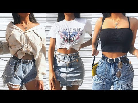 TRY ON CLOTHING HAUL + FESTIVAL OUTFIT IDEAS / STYLING TIPS  |  AD