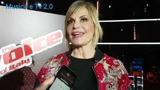 SIMONA VENTURA Conduce The Voice Of Italy 2019 (Intervista)