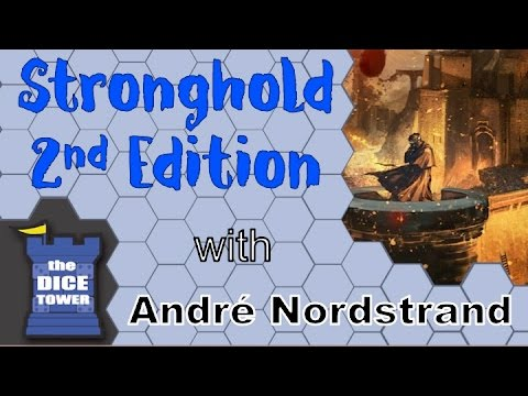 The Dice Tower Reviews: Stronghold 2nd Edition - with Takras