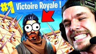 """JE PIÈGE UN """"BAMBI"""" POUR LE TOP1 sur FORTNITE: Battle Royale !!"""