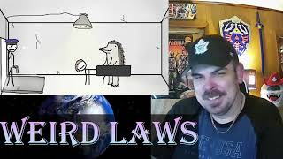 Weird Laws from Around the World (Sam O'Nella Academy) REACTION