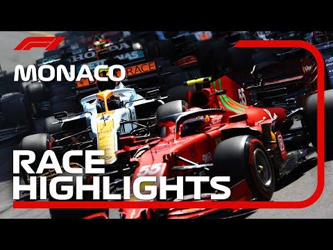 角田裕毅は15位 F1モナコGP 決勝レースハイライト動画