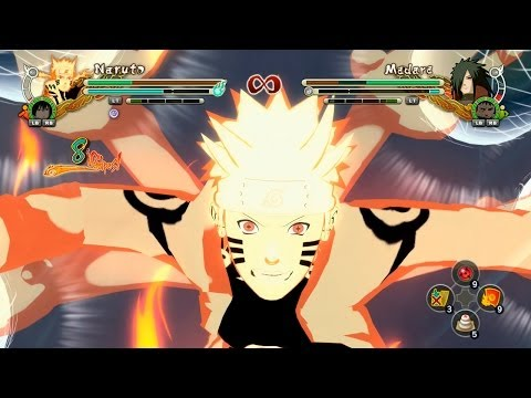 Ninja Storm 3 Full Burst DLC Sasuke & Itachi vs Sage Mode Kabuto | PC