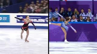 Evgenia Medvedeva Team Event 2018 SP Program Components