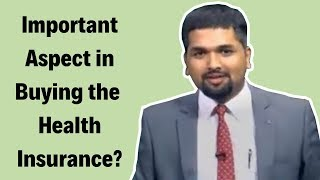 Important Aspect in Buying the Health Insurance | Money Doctor Show English | EP 136