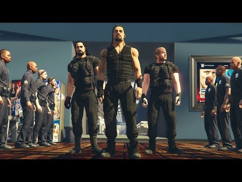 Awesome WWE 2K19 GTA 5 Entrances Of The Shield, Undertaker & More ( WWE GTA V Mods )