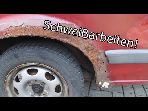 VW Golf II #5 - Schweißarbeiten - der Rost muss weg
