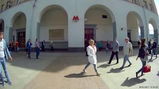 Вход на станцию метро Павелецкая
