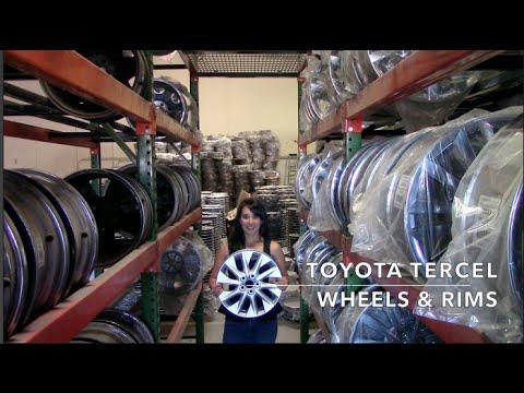 Factory Original Toyota Tercel Rims & OEM Toyota Tercel Wheels – OriginalWheel.com