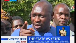 Leaders visit Keter,the politicians who flocked the Muthaiga police station were furious