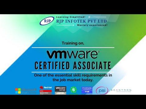 RJP's - VMware Certified Associate (VCA-DCV) - YouTube