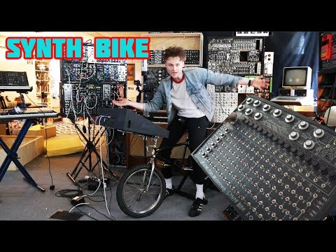 #SYNTH BIKE 3.0 THE #EXCERSISE BIKE FOR THE MUSICIAN