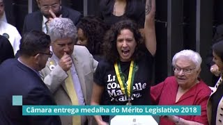Matéria TV Câmara Medalha do Mérito Legislativo