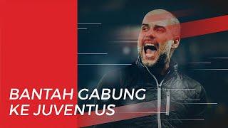 Timnya Dihukum UEFA, Pep Guardiola Bantah Isu akan Hengkang dari Manchester City