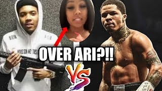 Gervonta Davis DARES G Herbo to DO SOMETHING to Ari NOW!! | Why do BLK CELEBS H1T the SAME TH0TS?
