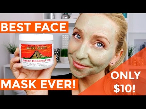 BEST FACE MASK EVER: Aztec Secret Indian Healing Clay Demo + Review!