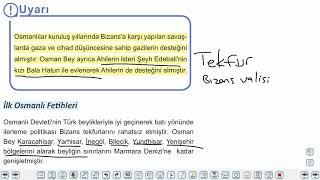 Eğitim Vadisi TYT Tarih 8.Föy Yerleşme ve Devletleşme Sürecinde Selçuklu Türkiyesi 1 Konu Anlatım Videoları