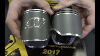 FORGED VS CAST PISTONS AND PISTON COATINGS EXPLAINED!