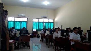 Pegawai K2 Guru, Penyuluh Pertanian dan Dosen Mengikuti Tes P3K di SMKN 1 Sungailiat