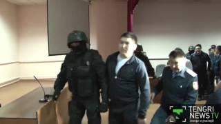 В Талдыкоргане устроили показательный суд над экс-полицейскими по делу об убийстве Яковенко
