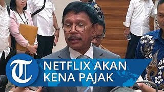 Johnny Plate Siap Bantu Sri Mulyani Kejar Pajak Netflix