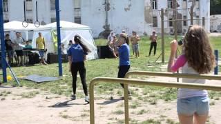 Выступление Workout Girls. Street Workout Сумы
