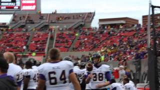 "ECU Fans Chant ""Purple & Gold"" Cheer at Carter-Finley Stadium - 107.9 WNCT"