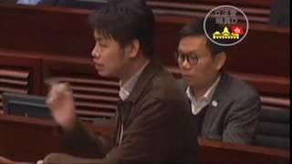 何俊賢:直接挑機黃碧雲【你都有精神分裂】!