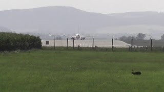 preview picture of video 'Ryanair RYR - take-off Brno Airport LKTB'