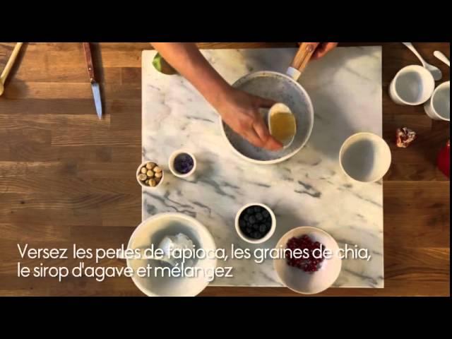 Recette – le pudding aux graines de chia – ELLE Cuisine