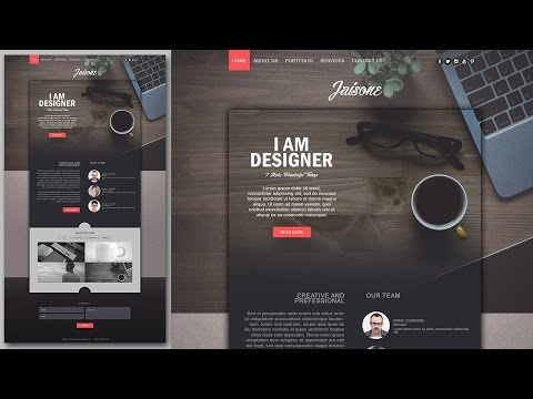 website design tutorials using adobe photoshop very stylish by mir rom